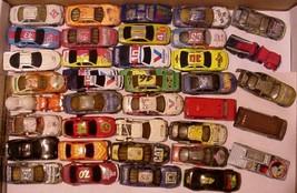 lot of 37 Loose Diecast Cars Hot Wheels Racing Champions Mattel Matchbox - $29.95