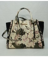NWT Brahmin Priscilla Satchel/Shoulder Bag in Eden Garland. Flowers - $385.00