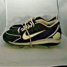 Nike Huarache Metal Cleats Black Size 10.5 - $19.99