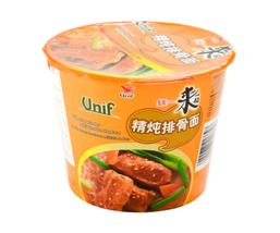 Unif Bowl Instant Noodles-Artificial Stewed Pork Chop Flavor - $7.91+