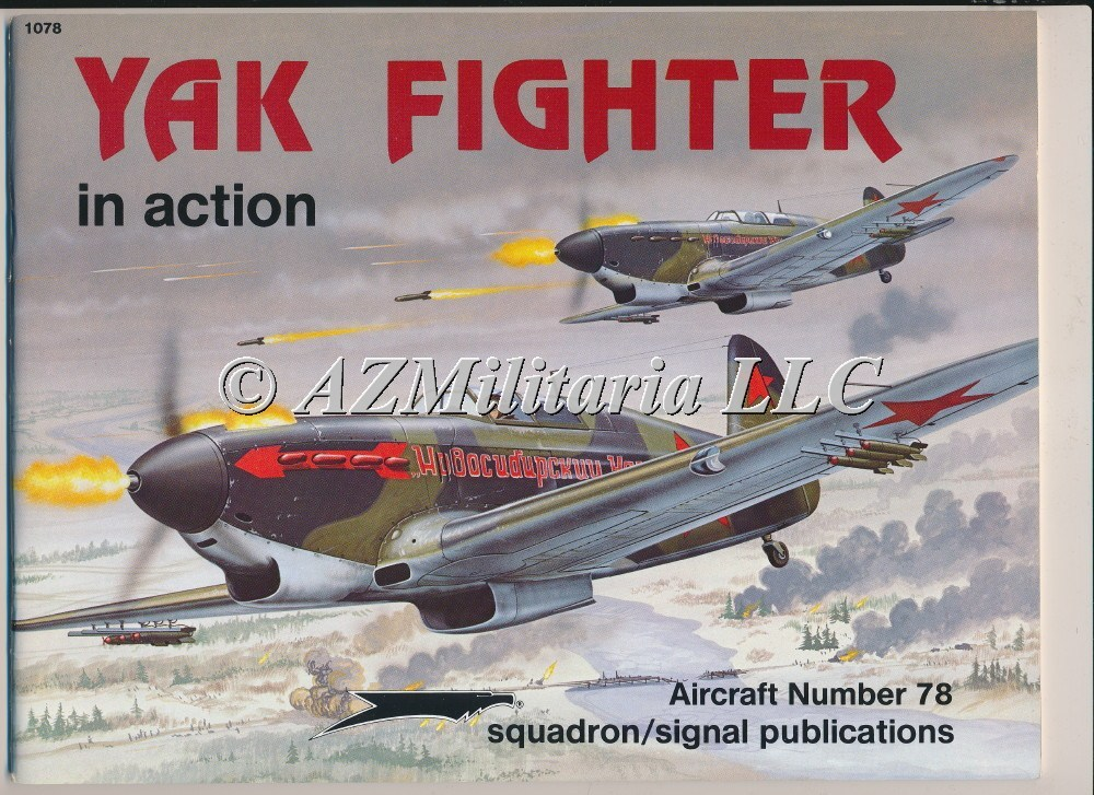 YAK Fighters In Action Aircraft No. 78