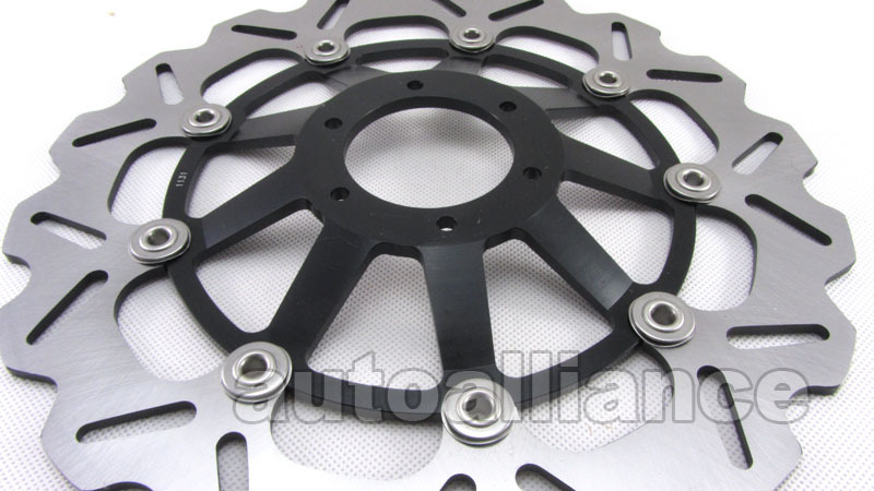 Front Brake Disc Rotor + Pad For CBR600RR F5 05-13 CBR1000RR 04-05 CB1000R 08-13