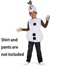 Frozen Basic Olaf Halloween Costume Child Size Small 6 Disguise NEW Dres... - $17.81
