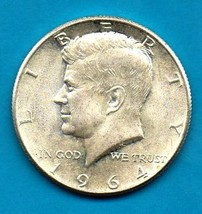 1964 Kennedy Halfdollar (uncirculated) - Silver - Brillant - $11.00