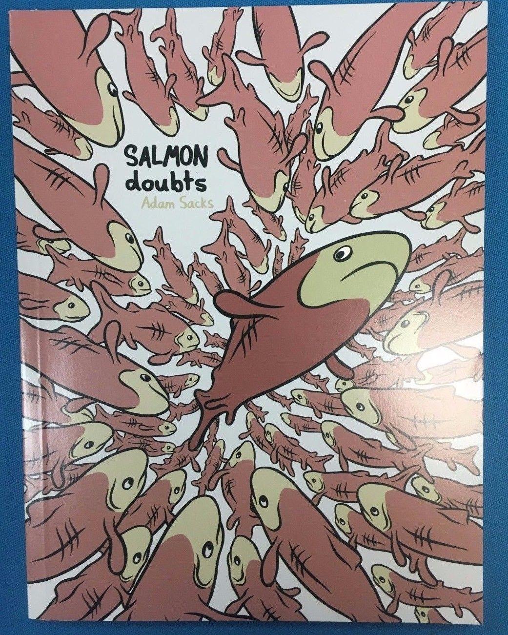 SALMON DOUBTS by Adam Sacks (2004) Alternative Comics TPB 1st FINE