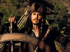 Pirates of the Caribbean Wheel Johnny Depp 11X14 Color Movie Memorabilia... - $13.95