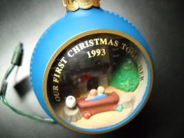 Hallmark Cards Christmas Ornament 1993 Our First Christmas Together Magi... - $6.99