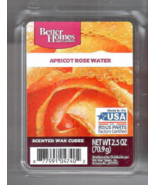 Apricot Rose Water Better Homes and Gardens Scented Wax Cubes Tarts Melts Sweet - $3.50
