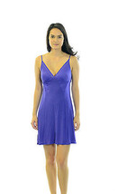 Size S On Gossamer Blue Unlined Nightgown With ... - $21.04