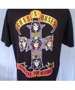 Guns-N-Roses Black 2XL T-Shirt Appetite For Destruction - $25.00