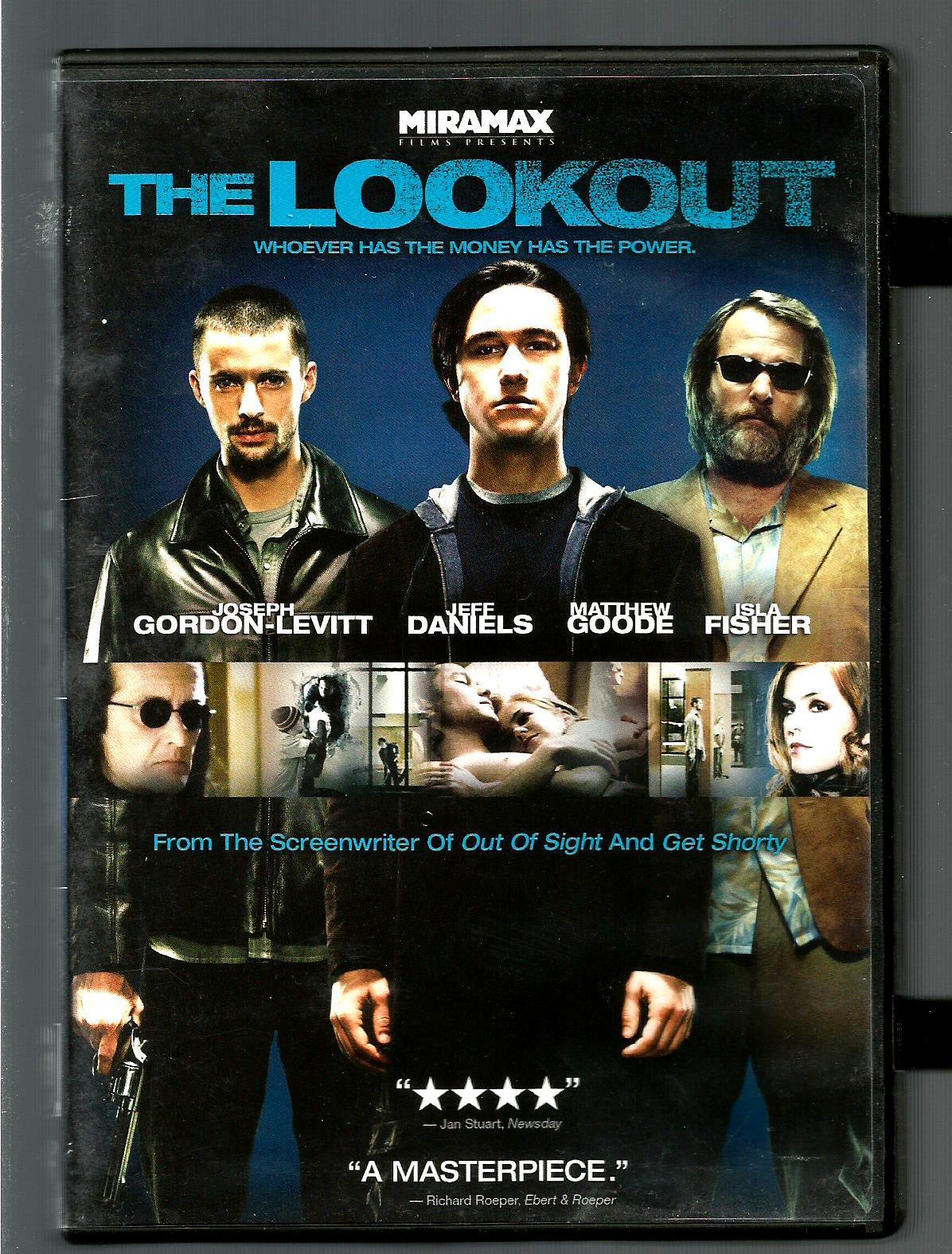 THE  OUTLOOK  * JOSEPH GORDON-LEVITT  ~  JEFF DANIELS  *  WIDESCREEN DVD