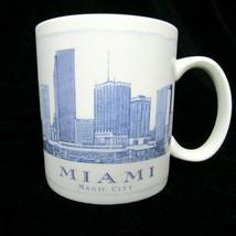 Starbucks Miami Architecture Series White Blue (2006) 18 oz Collector's Mug - $18.28