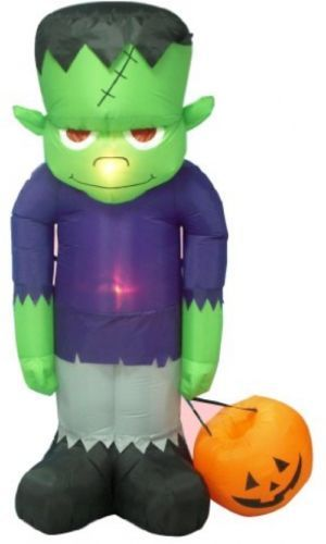 BZB Goods 8 Foot Tall Huge Illuminated Halloween Inflatable Frankenstein's