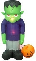 BZB Goods 8 Foot Tall Huge Illuminated Halloween Inflatable Frankenstein's - £106.23 GBP
