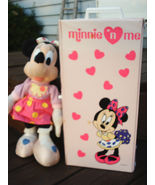 """VTG Minnie n Me Pink Carrying Case 16"""" Doll Clothes Polka Dot Dress Outf... - $44.54"""