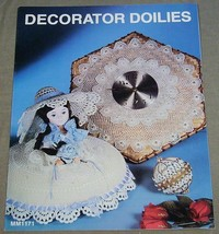 Decorator Doilies MM1171  Leisure Time Crochet and Tatting - $6.44