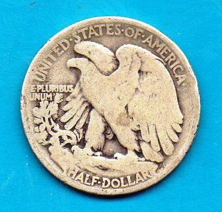 1935 Walking Liberty Silver Half Dollar 50c