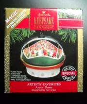 Hallmark Keepsake Christmas Ornament 1991 Arctic Dome Magic Motion Light... - $9.99