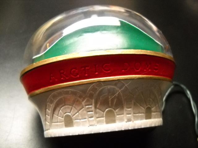 Hallmark Keepsake Christmas Ornament 1991 Arctic Dome Magic Motion Light Boxed