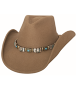 Bullhide Kill The Lights Wool Cowgirl Hat Pinch... - $77.00