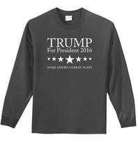 Trump For President 2016 T Shirt Republican Vote Election America Mens L... - €13,04 EUR