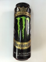 Monster Energy Drink UBERMONSTER 18.6 oz. can.New Sealed Resealable Can - $15.98