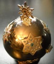 Lenox Christmas Ornament 2000 Snowflake Giving Ball Silverplate - $6.99