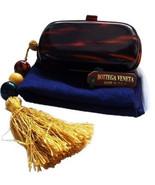 Authentic Bottega Veneta Vintage LUCITE TORTOISE SHELL Clutch Bag Chic  - $898.00