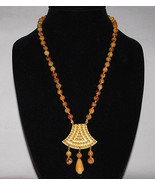 Authentic Miriam Haskell Vintage Etruscan Revival Necklace Very Rare Exc... - $238.00