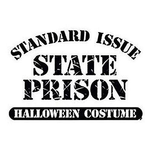 Standard Issue State Prison New T Shirt S M L XL 2X 3X 4X 5X Halloween Costume
