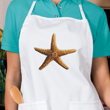 3D Ocean Starfish New Unisex Apron Boat Events Fishing Gifts - $19.99