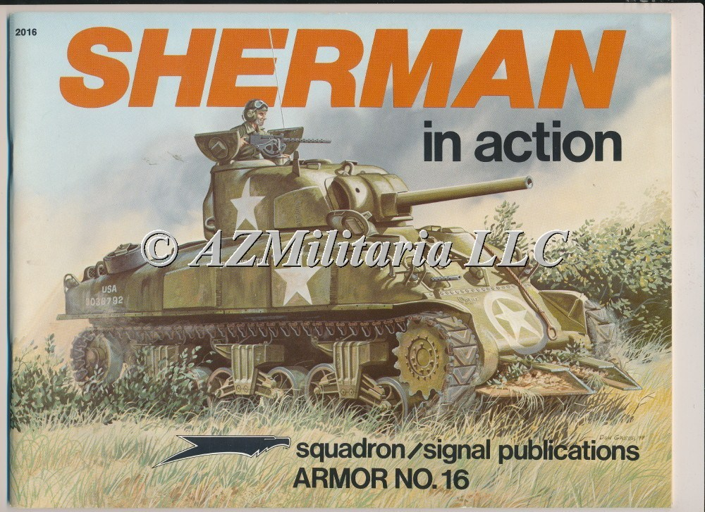Sherman In Action Armor No. 16