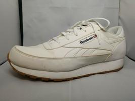 Reebok Classic Leather 49797 White Gum Sole Mens Shoes Fashion Size 11 1... - $34.64