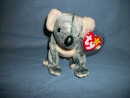 TY Beanie Babies Eucalyptus The Koala Bear With Hang Tag  4/28/99 - $2.48