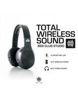 DE Headphones - Decibel B68 Bluetooth Over Ear Headphones Club Studio - Black - $89.99