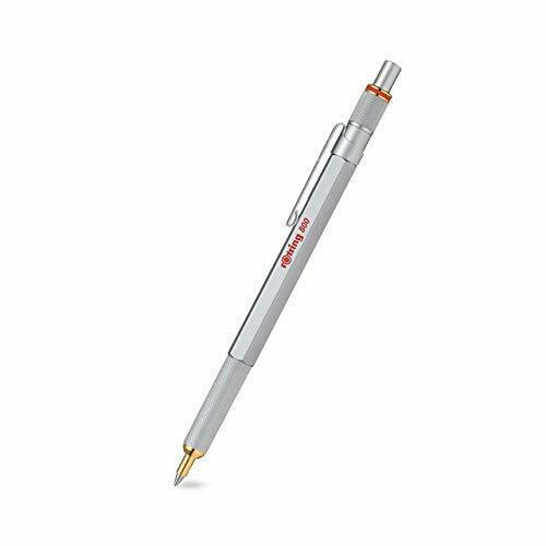 rOtring 800 series Ballpoint Pen Silver Knock Limited 2032580 Type w/Tracking#