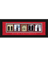 Miami (of Ohio) University Red Hawks 8 x 24 Fra... - $38.50