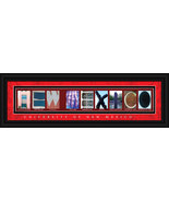 University of New Mexico Lobos - 8 x 24 Framed ... - $39.45