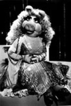 Muppets Miss Piggy 12 Vintage 8X10 BW Cartoon TV Memorabilia Photo - $4.99