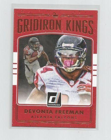 DEVONTA FREEMAN (Atlanta Falcons) 2016 DONRUSS GRIDIRON KINGS INSERT CARD #31