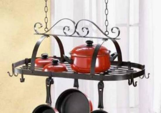 35603 Accent Plus Hanging Pan Set Holder