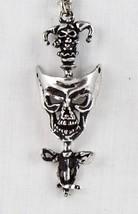 "Alchemy Gothic P.56 ""DEVIL'S JESTER"" Rare Neckl... - $27.93"