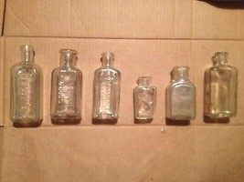 Antique Bottle Lot Sloane's Liniment French Glo... - $7.70