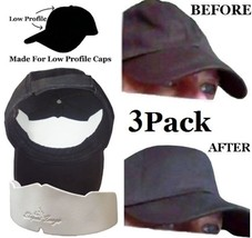 Low Profile Caps Crown Inserts, Hat Shaper, Brim Hat Liner, Hat Storage ... - $10.95