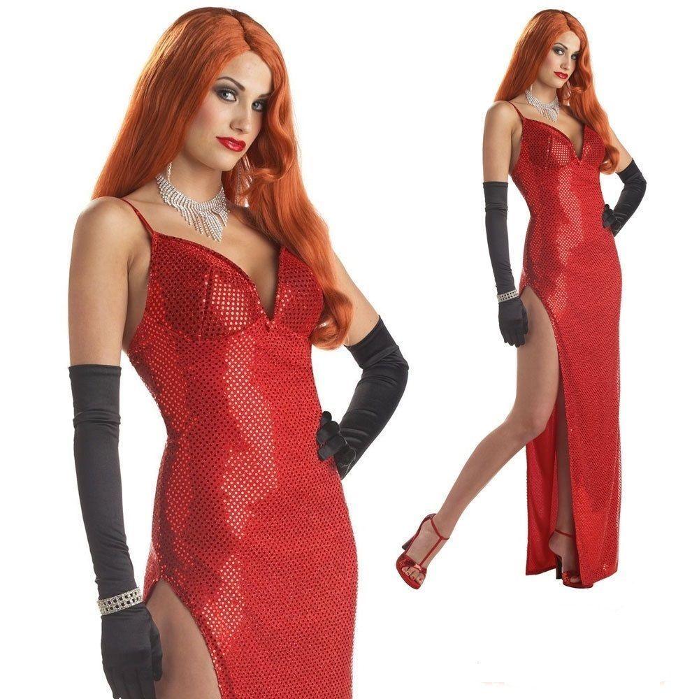 jessica rabbit dress halloween costume dress outfit