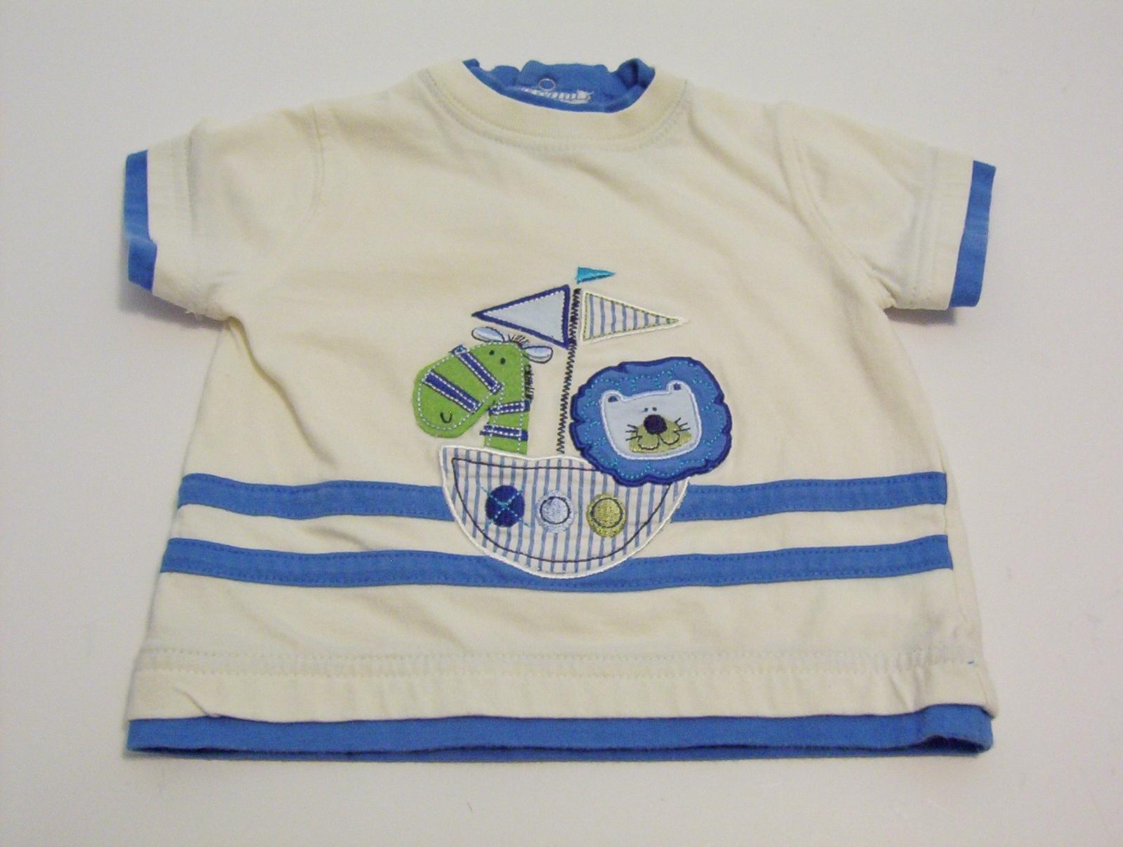 f05dbb401 Okie-Dokie Baby Boy 3-6 Months T-Shirt Cream and 13 similar items