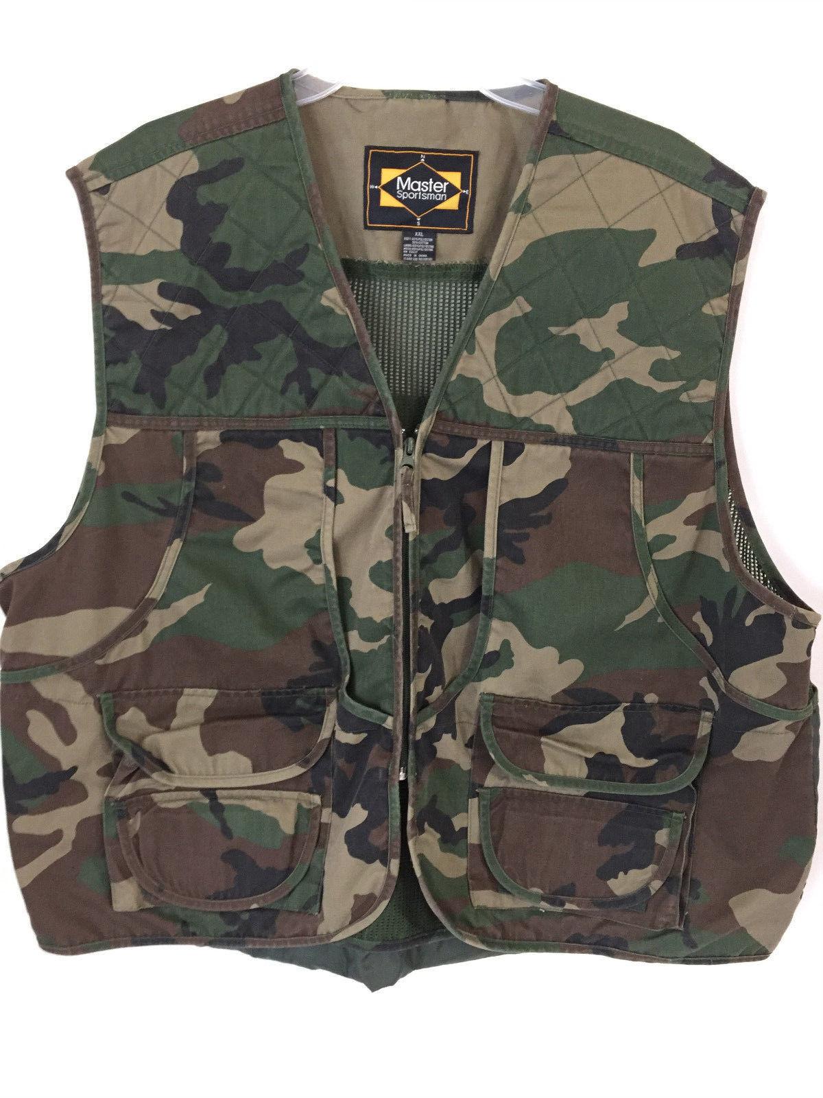 d7ec74dfe58b8 Master Sportsman Hunters Camo Vest XXL and 50 similar items. 57