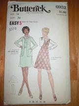Vintage Butterick Misses Size 14 Jumper Cardigan Jacket #6926  - $5.99