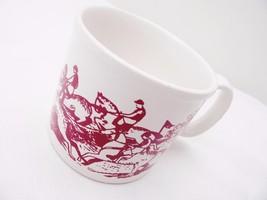 Rare 'Point to Point' Ceramic Mug/Cup  Horses  Riding - $28.34