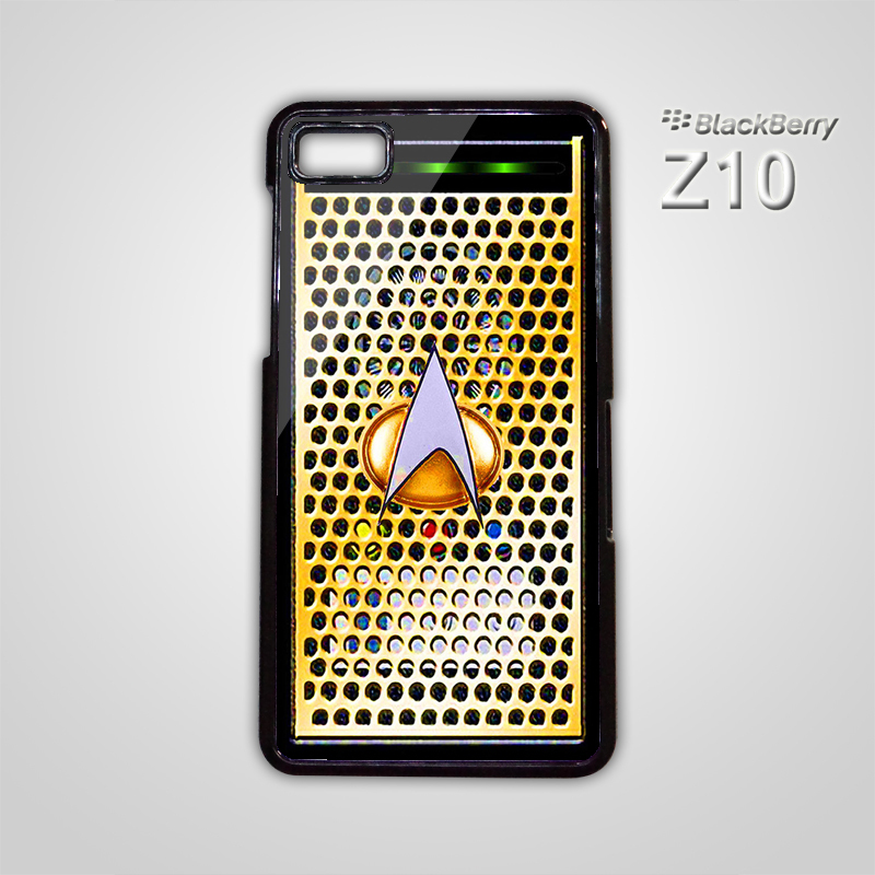 Star Trek Communicator Phone Startrek Logo BB BlackBerry Z10 Hard Case ...